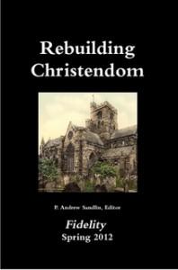 RebuildingChristendom